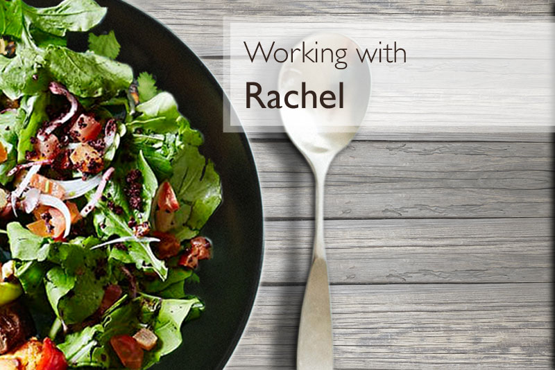 Working with Rachel - nutritional therapy
